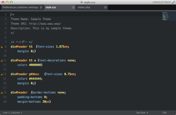 SublimeText 01 20131108 22 15 8