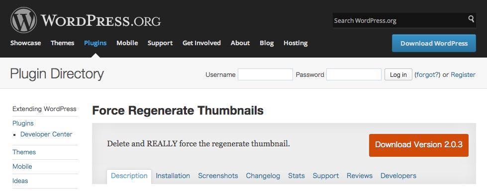 Force Regenerate Thumbnails 06 20141213 144955