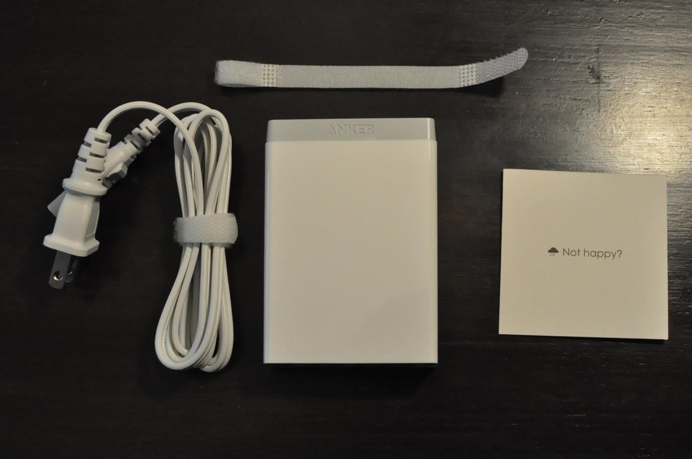 Anker 60W 6ポート USB急速充電器 06 20150808 135911