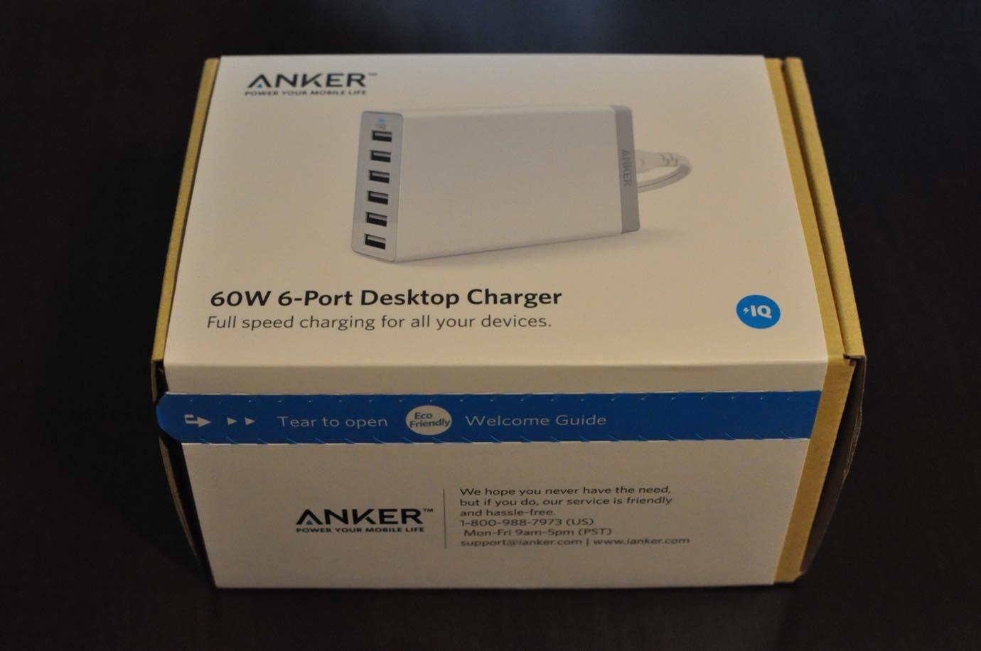 Anker 60W 6ポート USB急速充電器 12 20150808 135911