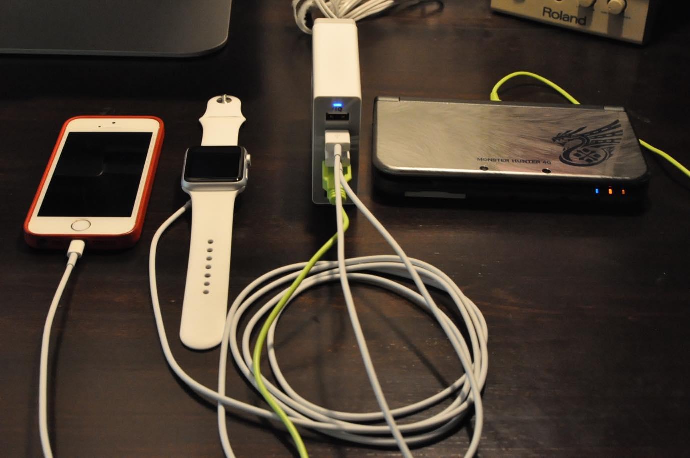 Anker 60W 6ポート USB急速充電器 14 20150808 135911