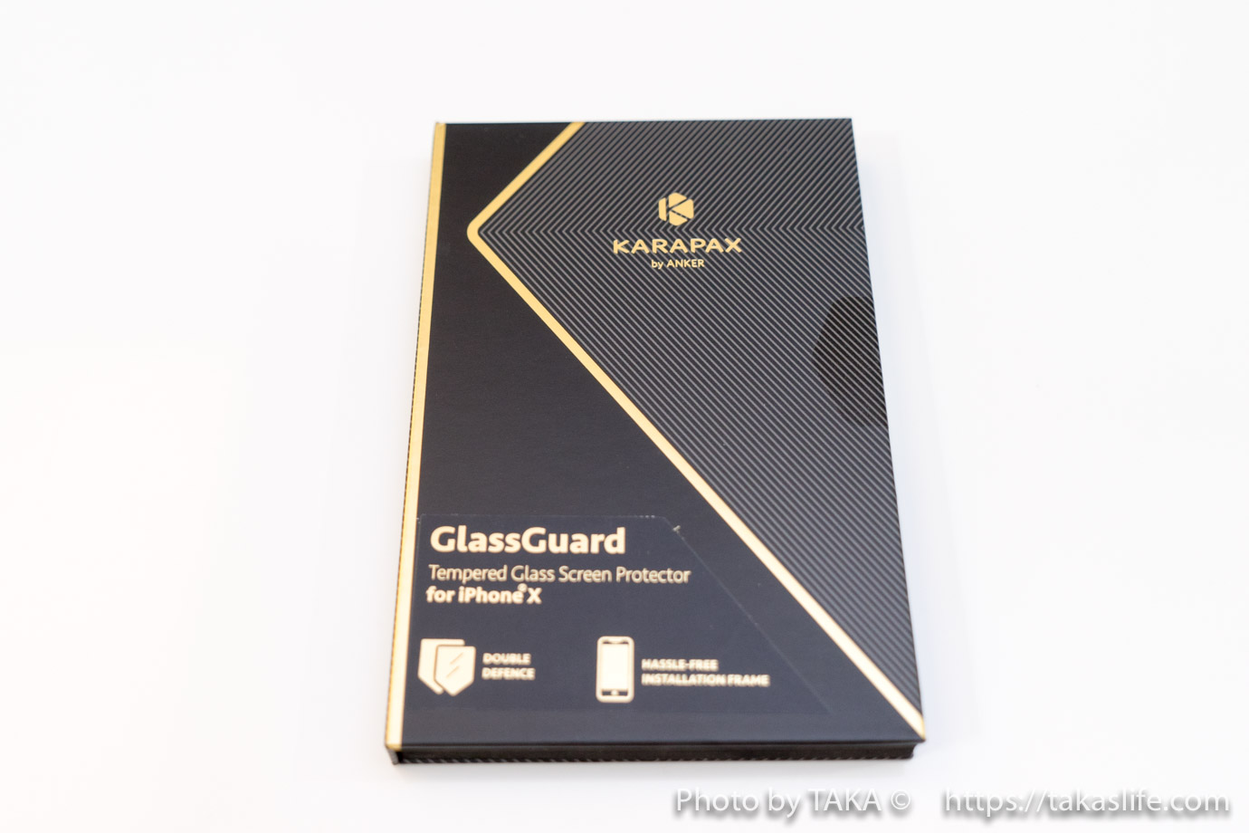 IPhone X ガラス保護フィルム 01 20171112 222006