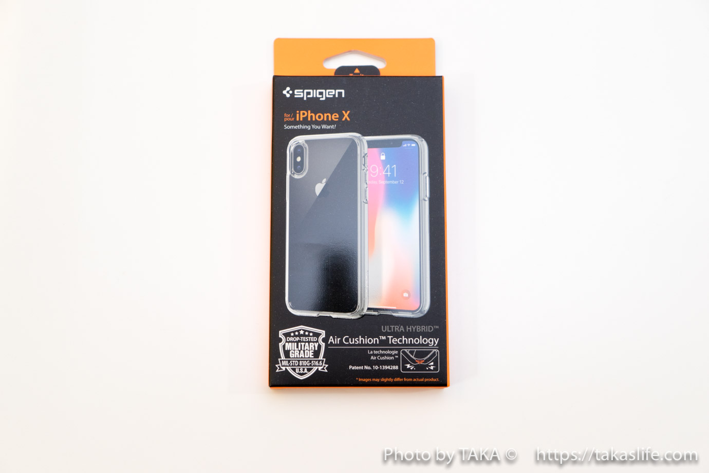 Spigen iPhone X ケース 03 20171113 215622