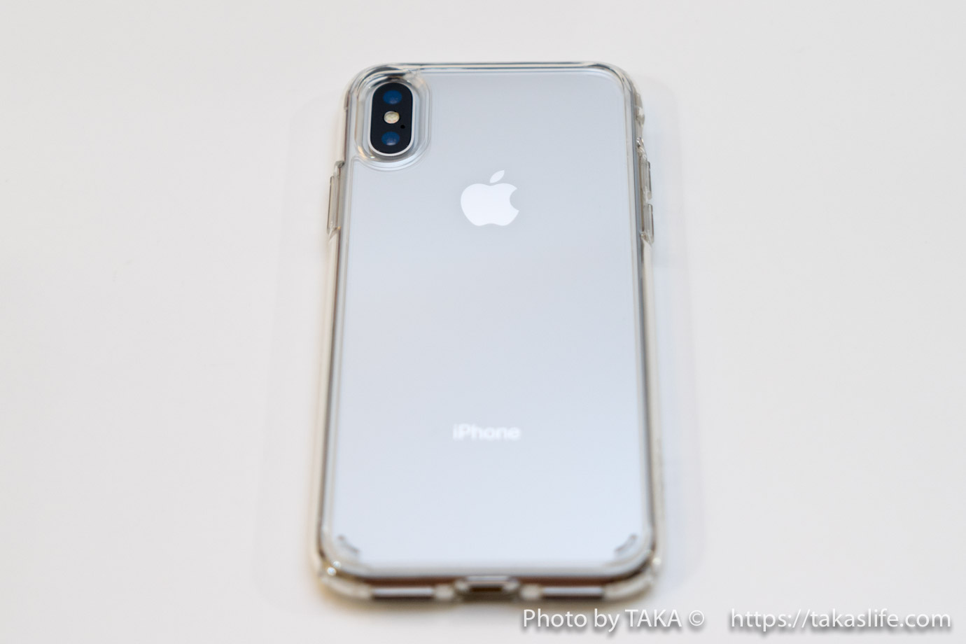 Spigen iPhone X ケース 08 20171113 215631