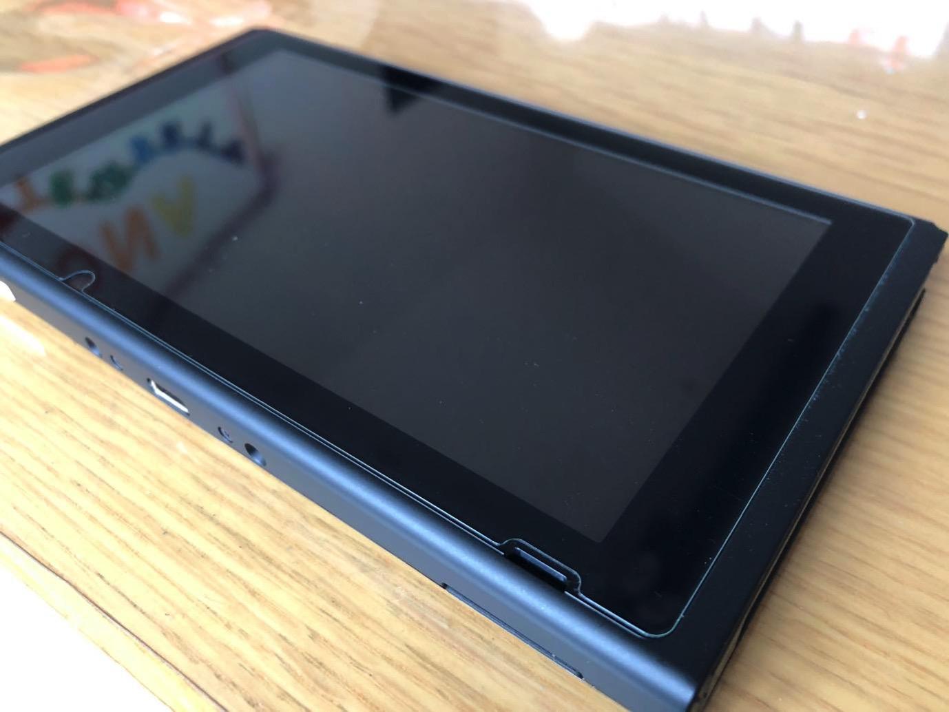 Nintendo Switch 保護ガラス 03 20171229 214959