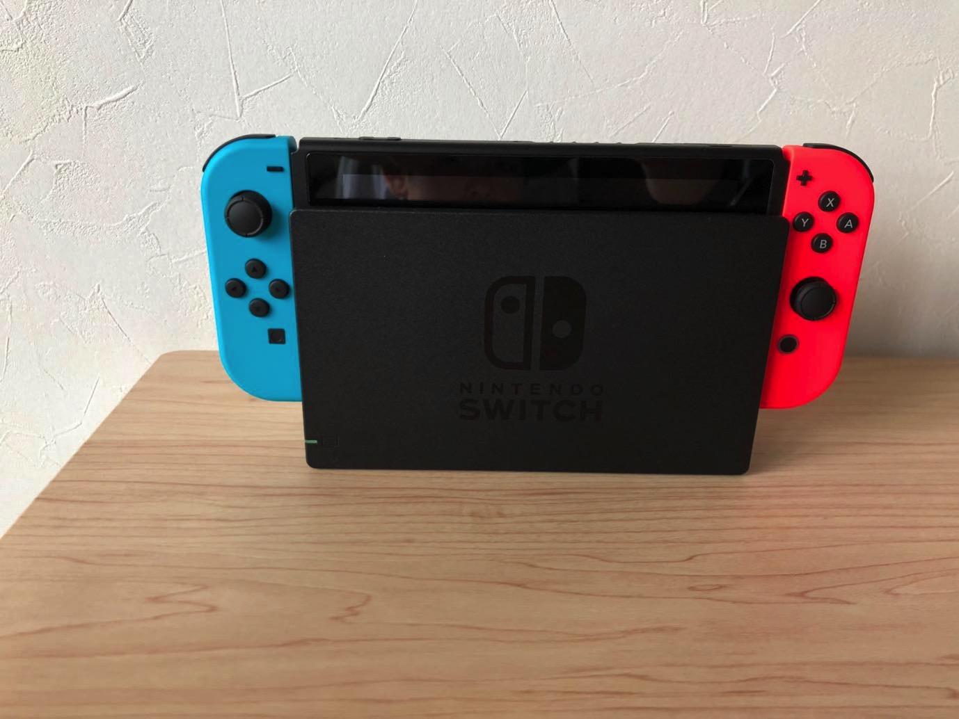 Nintendo Switch 保護ガラス 01 20171229 214959