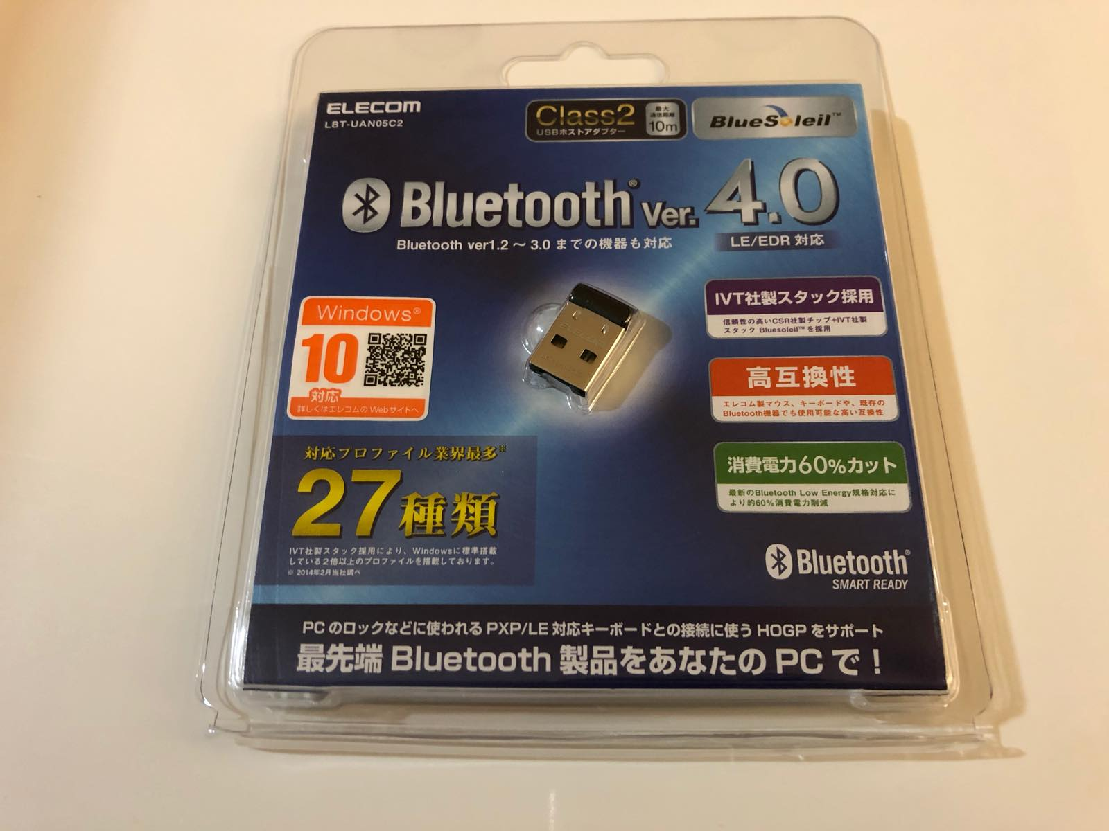 Bluetooth USB アダプタ 01 202028 93236