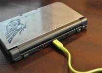 3DS LLの充電用USBケーブル購入。ダイソーで100円!!